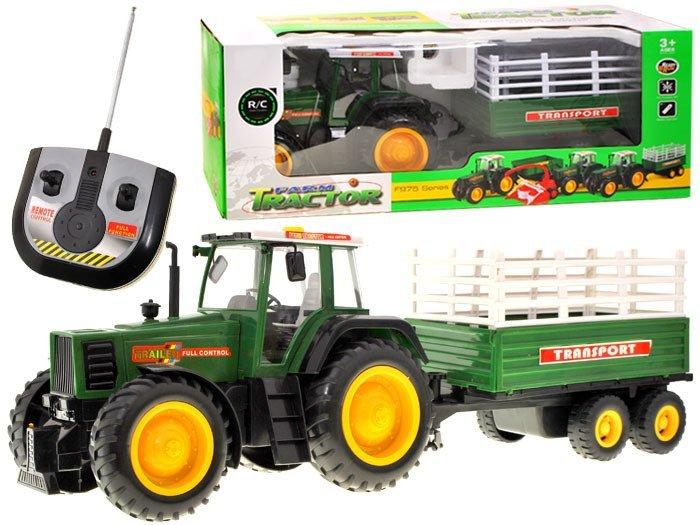 RC Traktor s přívěsem MAXI