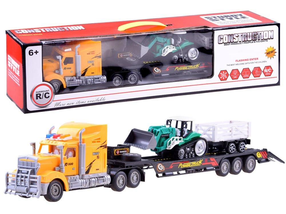 RC Nákladní auto s traktorem