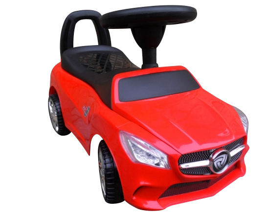 Odstrkovadlo Mercedes Benz SLS - červené
