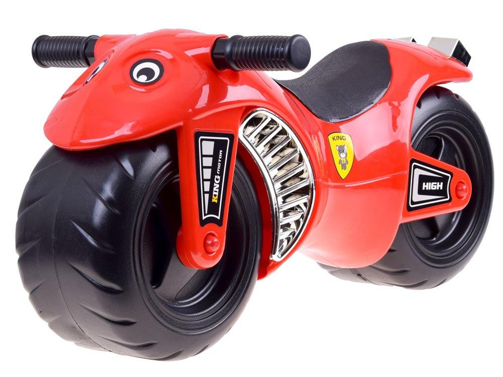 HračkyZaDobréKačky odrážedlo Sportovní motorka - červená