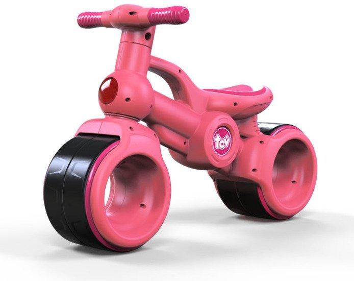 HračkyZaDobréKačky růžové odrážedlo