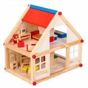 Dřevěný domeček pro panenky My Villa