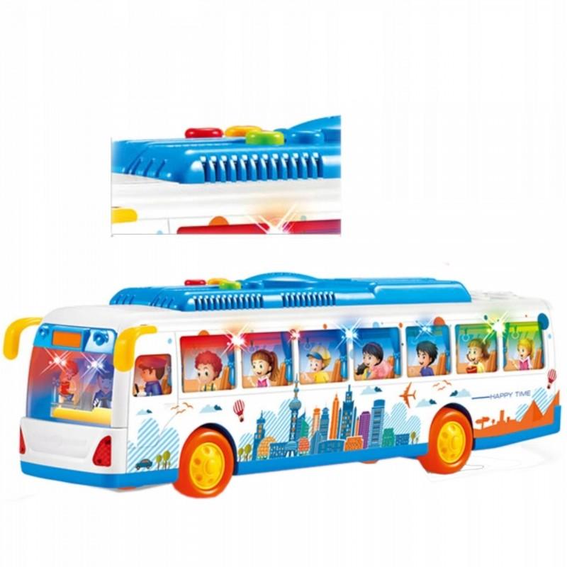 Velký městský autobus se zvuky