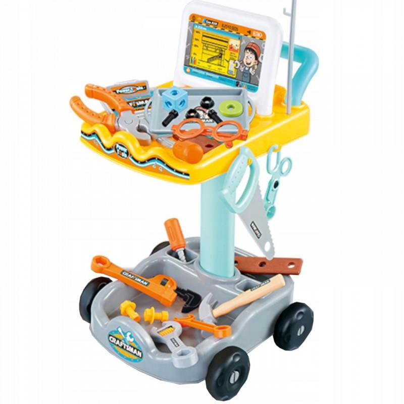 Dětská dílna na vozíku