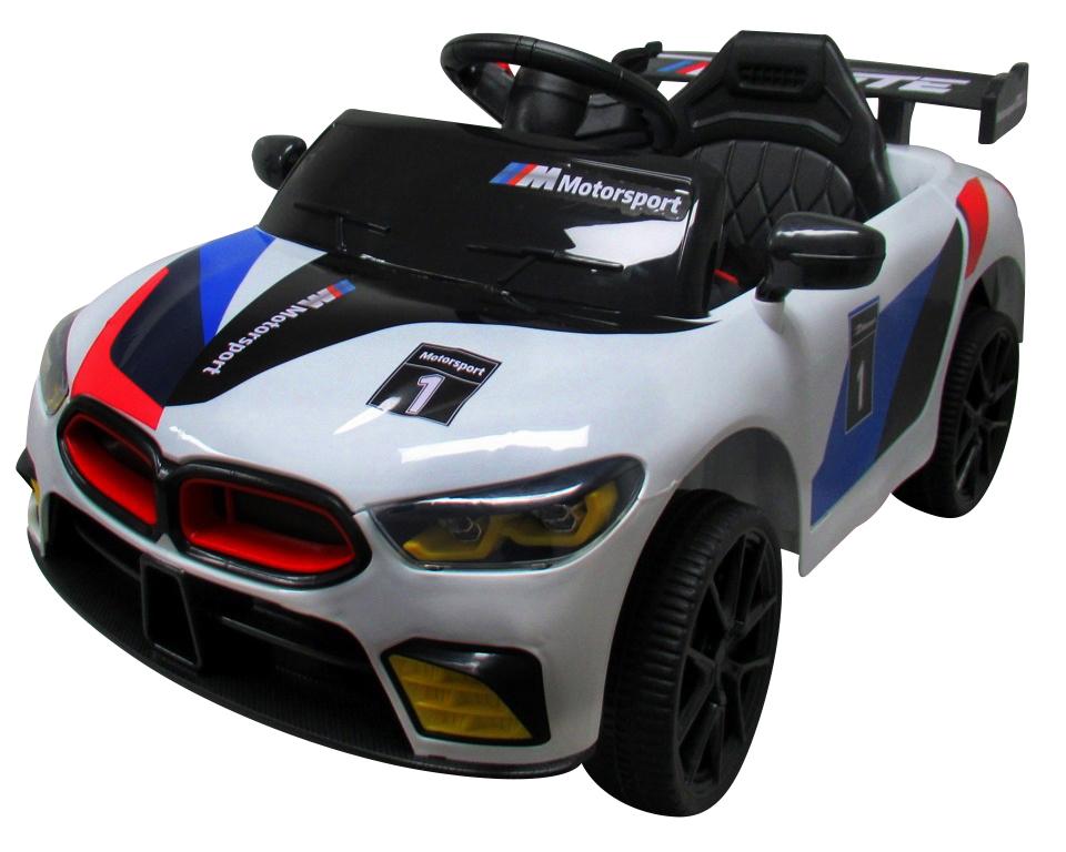 Dětské elektrické autíčko Small racer MINI - bílé