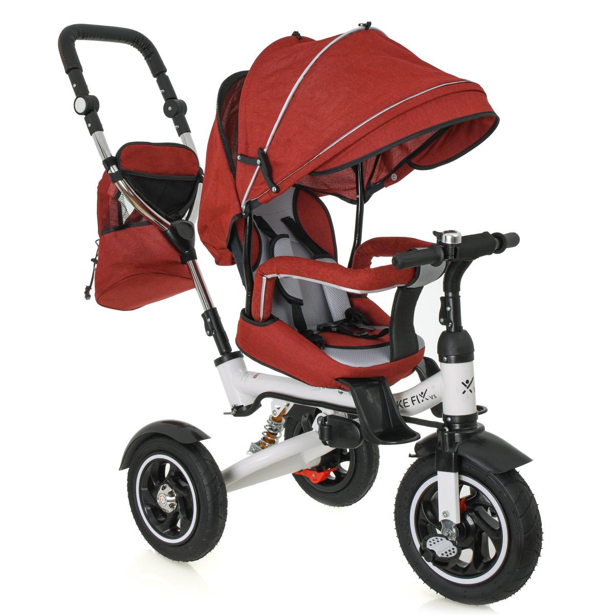 Dětská tříkolka TRIKE FIX III - červená