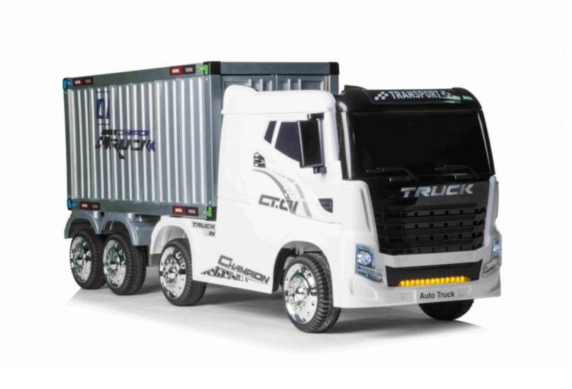 Dětské elektrické autíčko kamion s návěsem