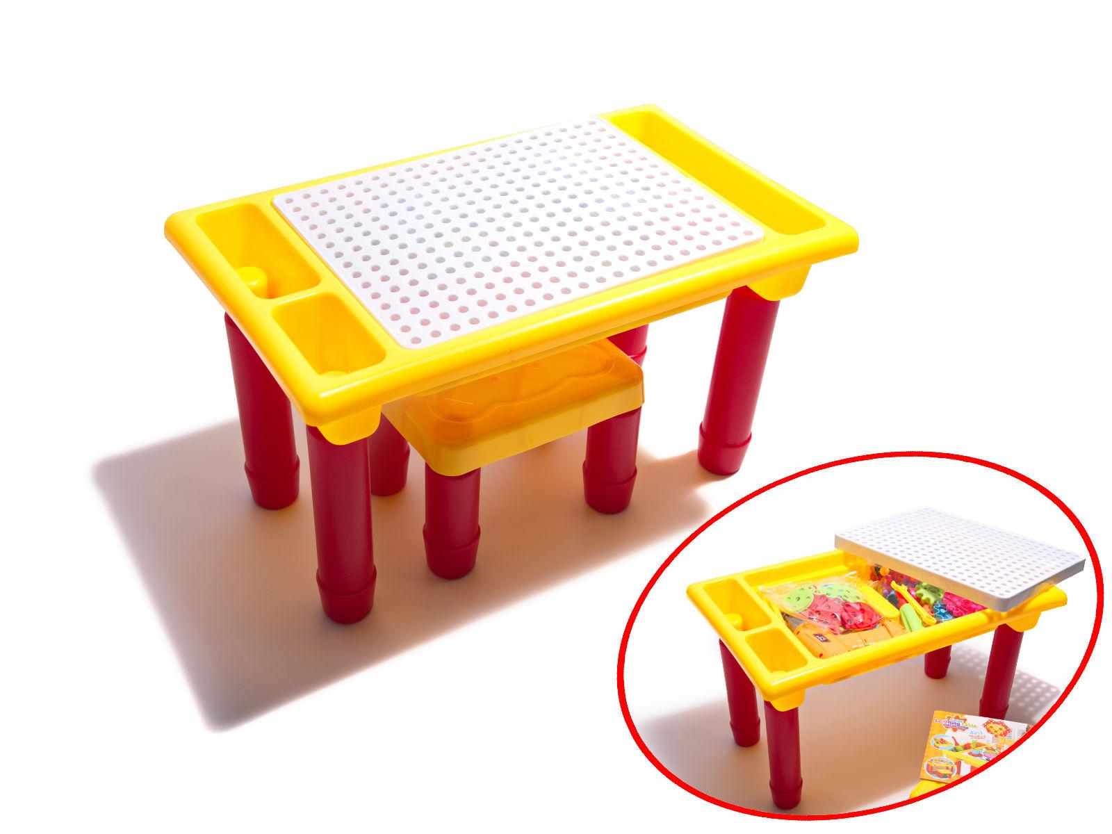 Dětská stavebnice se stolem a vrtačkou