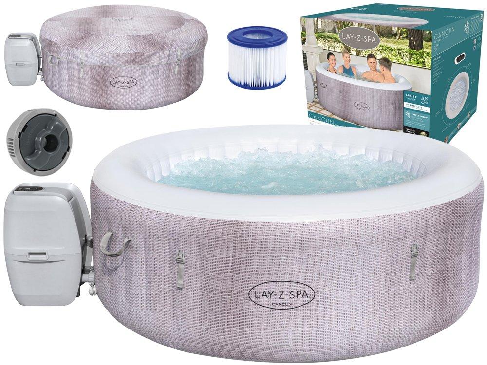 Bestway Vířivý bazén Lay-Z-Spa CANCUN pro 2-4 osoby