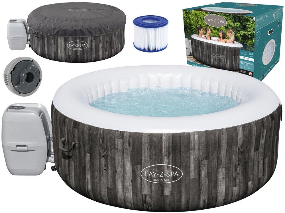 Bestway Vířivý bazén Lay-Z-Spa BAHAMAS pro 2-4 osoby