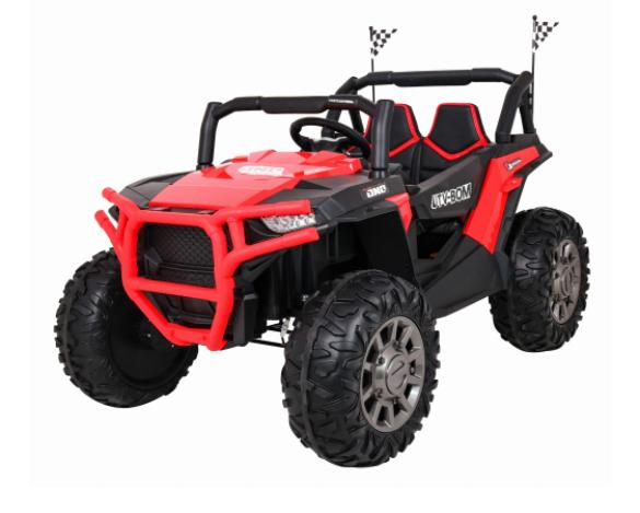 Dětské elektrické autíčko Buggy Racer 4x4 - červená
