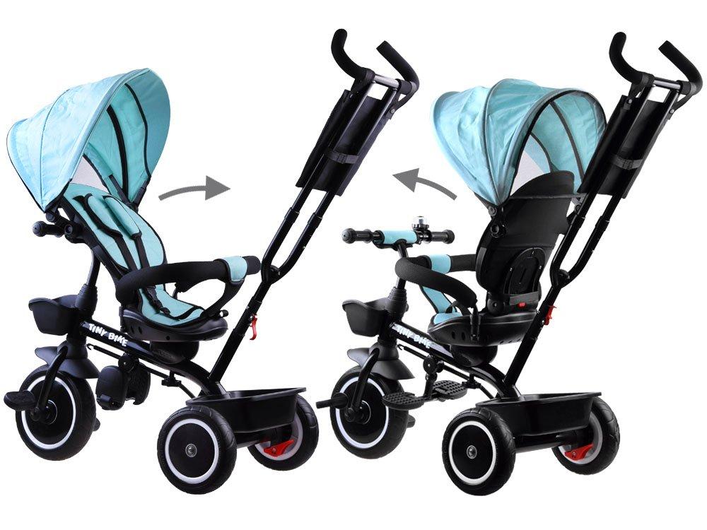 Dětská tříkolka Tiny Bike 3v1