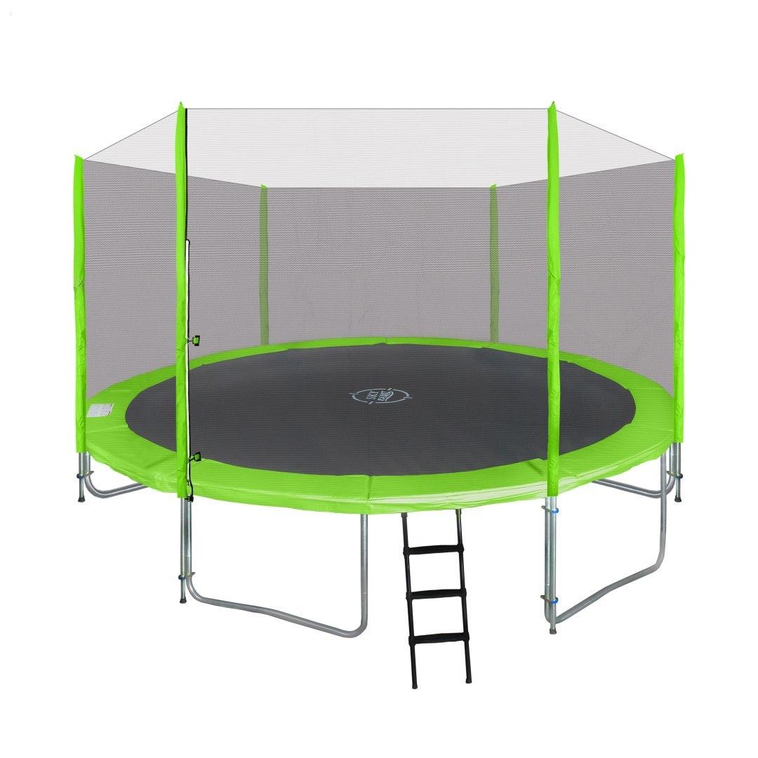 Zahradní trampolína SKY 427 cm zelená