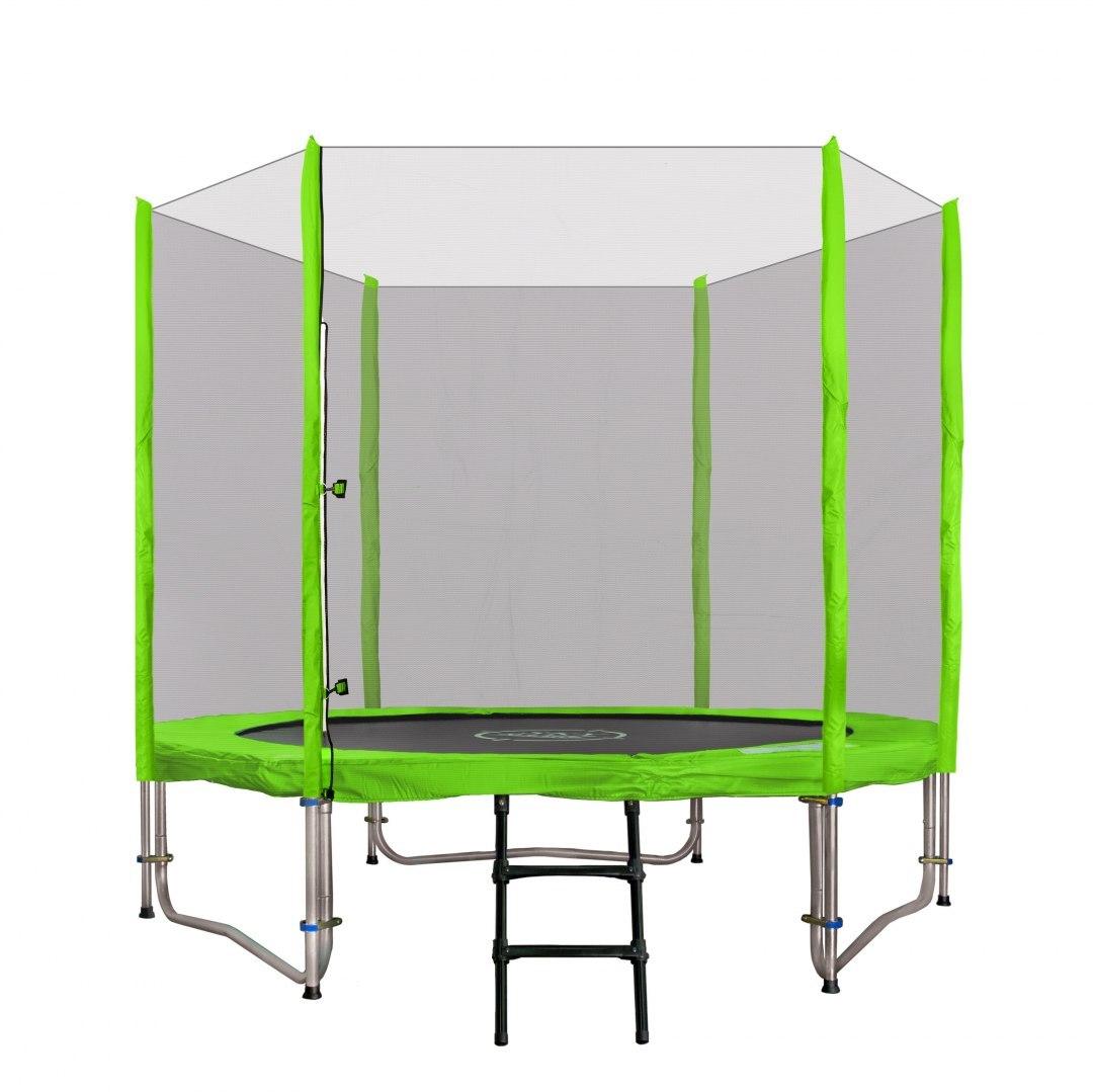 Zahradní trampolína SKY 244 cm zelená