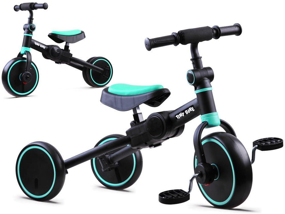 Dětské odrážedlo Tiny Bike 3v1 - modré
