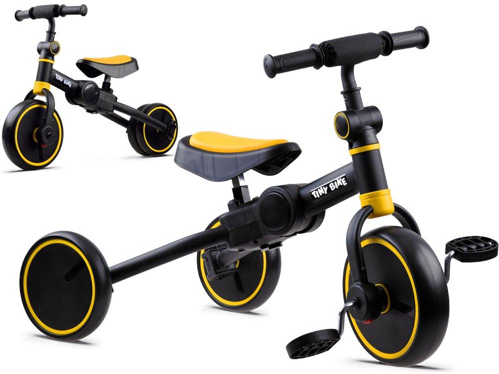 Dětské odrážedlo Tiny Bike 3v1 - žluté