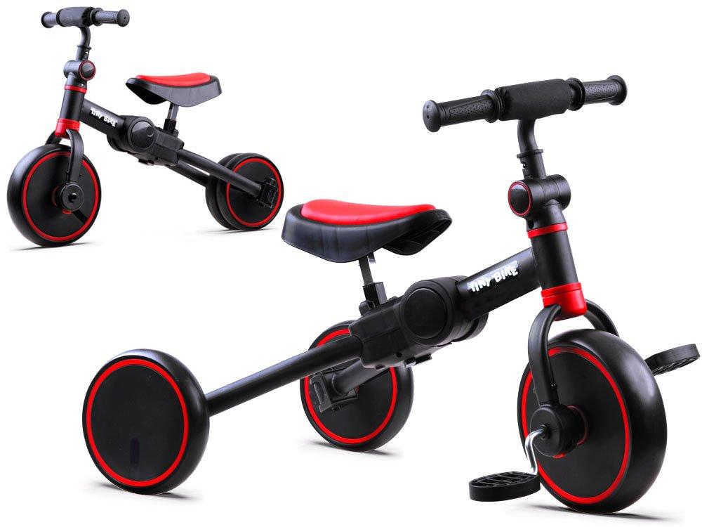 Dětské odrážedlo Tiny Bike 3v1 - červené