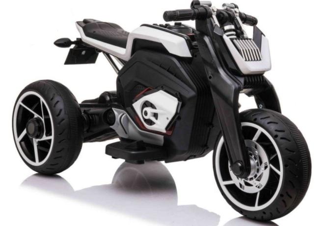 Dětská elektrická motorka Future - bílá