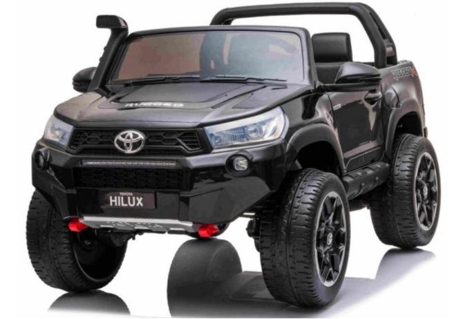 Elektrické autíčko Toyota Hilux  - černá