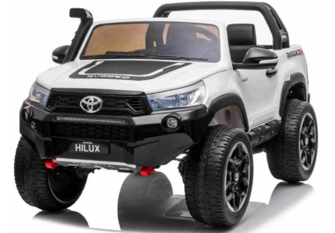 Elektrické autíčko Toyota Hilux  - bílá