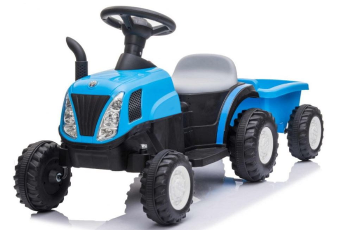 Dětský elektrický traktor New Holland T7