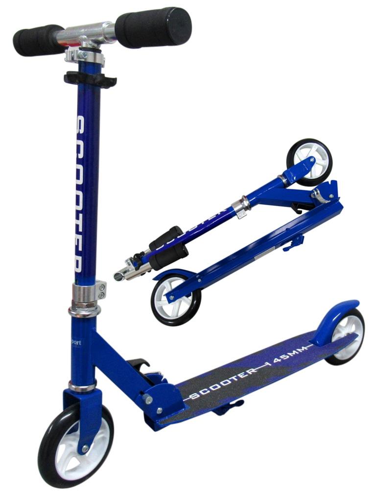 Tomido Dětská koloběžka R-Sport - modrá
