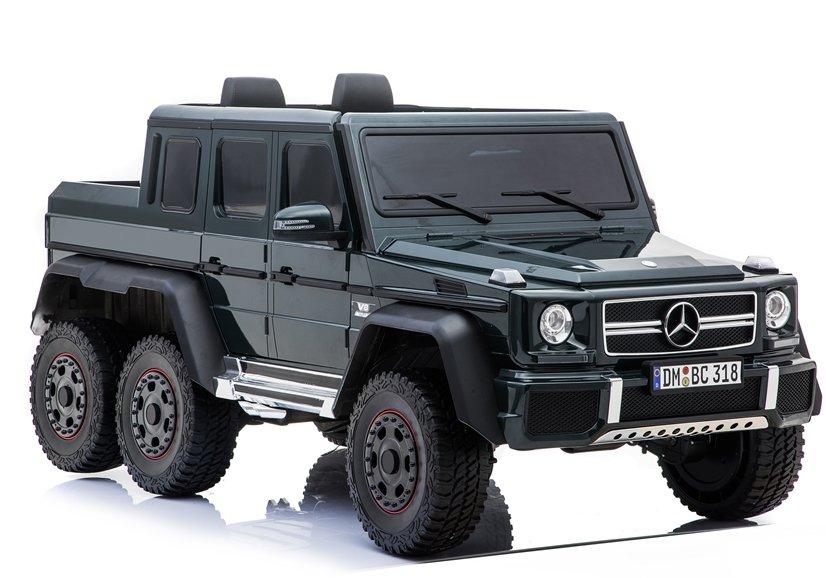 Beneo elektrické autíčko Mercedes G63 6x6 - černé