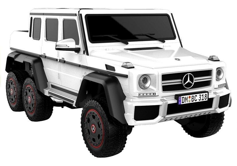 Beneo elektrické autíčko Mercedes G63 6x6 - bílé