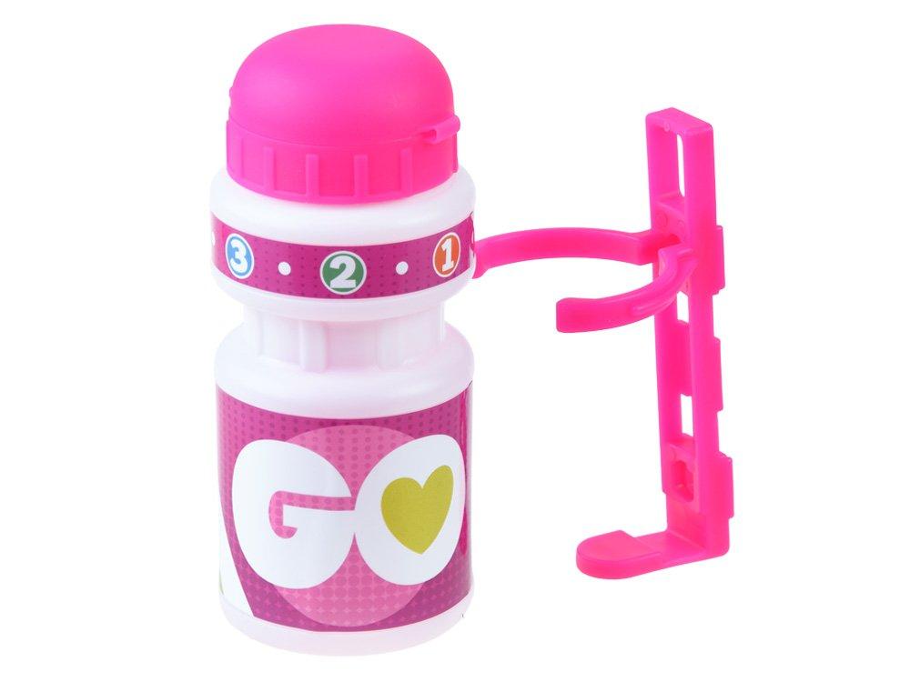 Sada GO - Košík, zvonek, láhev na pití na kolo