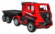 Dětský elektrický kamión s přívěsem