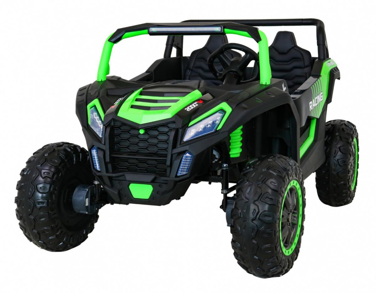 Elektrická Bugina Buggy ATV STRONG 180W, 24V - zelená