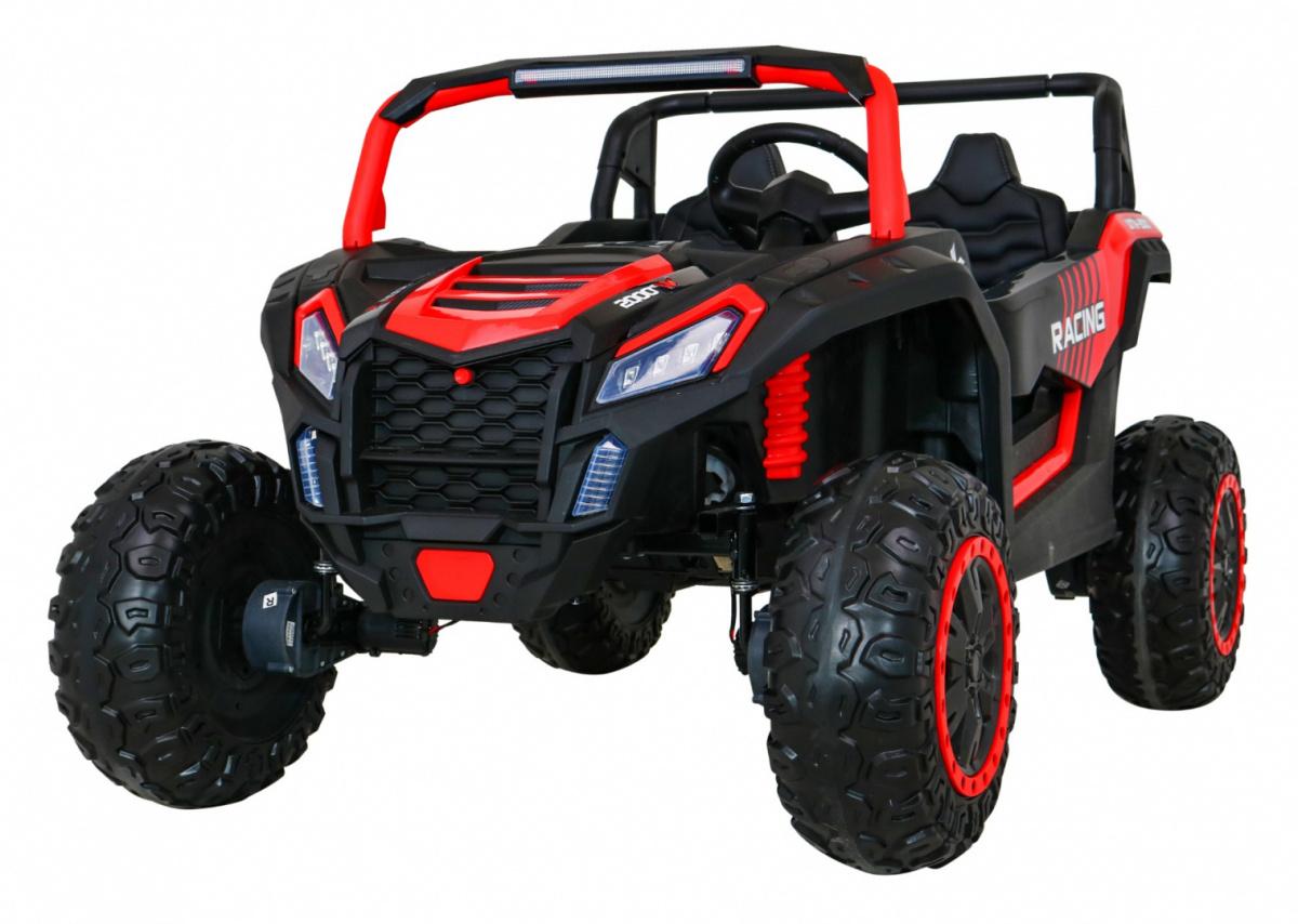 Elektrická Bugina Buggy ATV STRONG 180W, 24V - červená