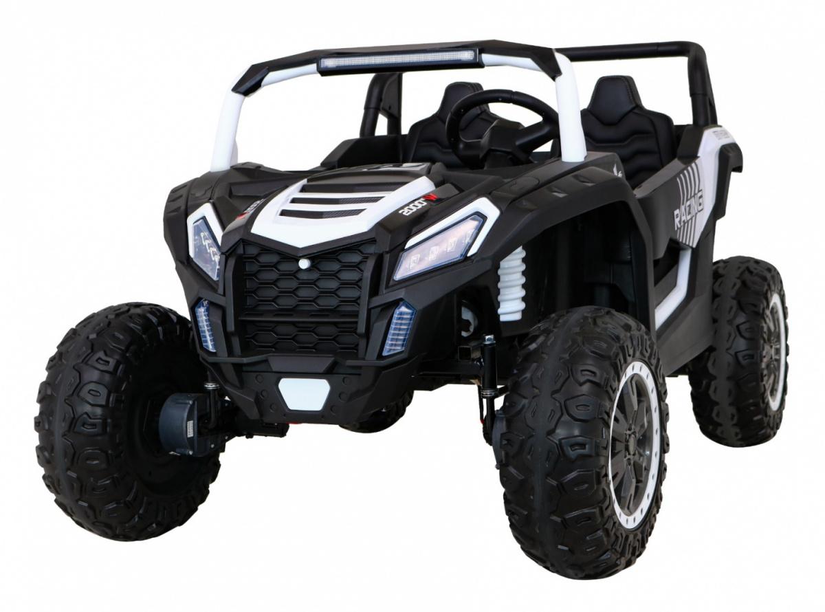 Elektrická Bugina Buggy ATV STRONG 180W, 24V - bílá