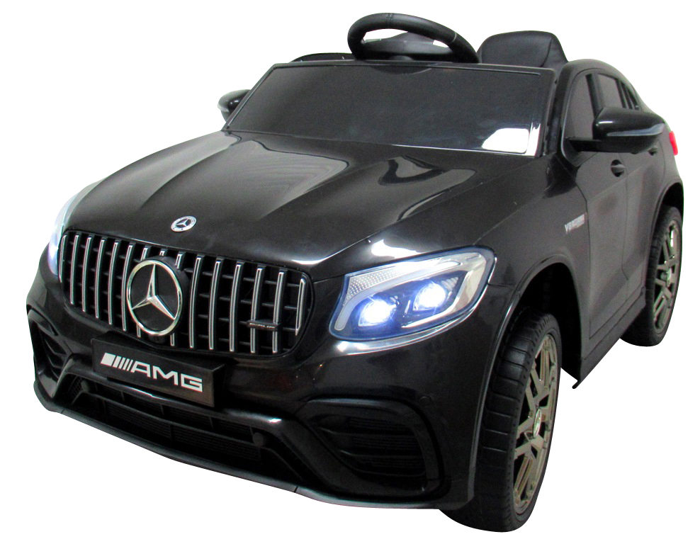 Dětské elektrické autíčko Mercedes GLC 63S 4x4 - černé