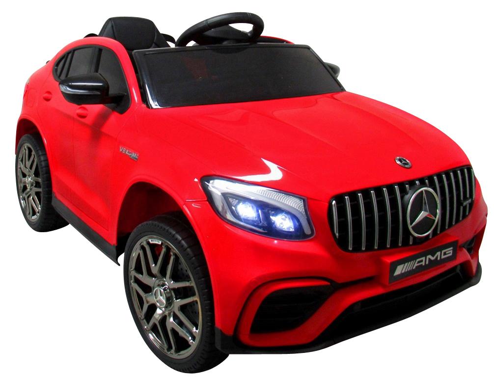 Dětské elektrické autíčko Mercedes GLC 63S 4x4 - červené