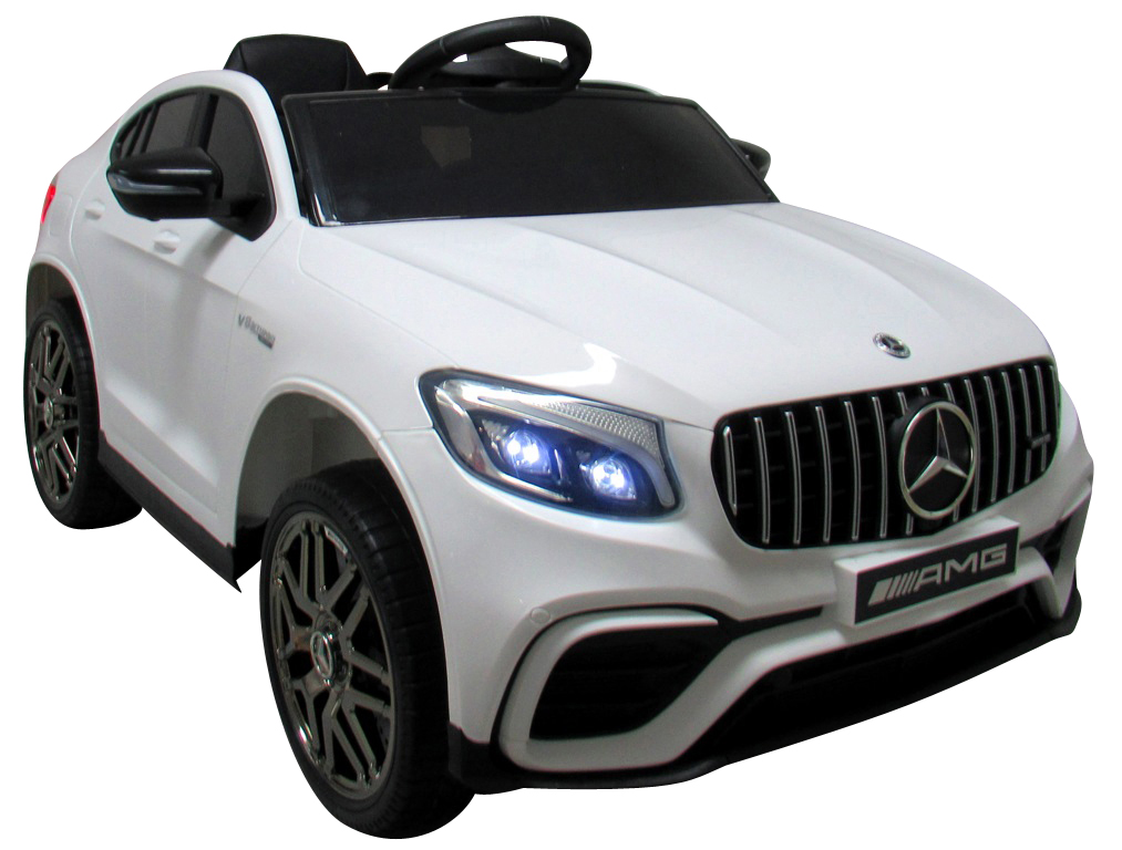Dětské elektrické autíčko Mercedes GLC 63S 4x4 bílé