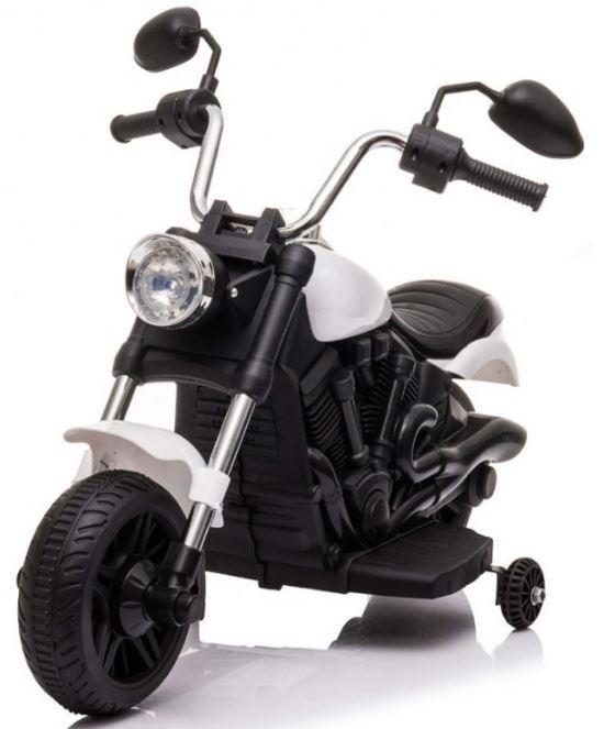 Elektrická motorka Chopper V-Max - bílá