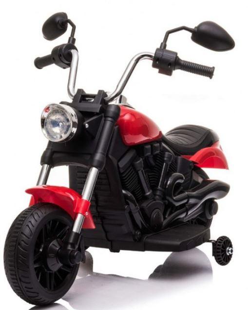 Elektrická motorka Chopper V-Max - červená