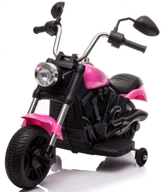 Elektrická motorka Chopper V-Max - růžová