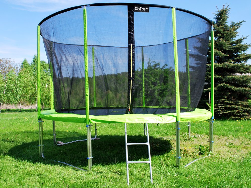 Zahradní trampolína 366 cm SkyFlyer Green