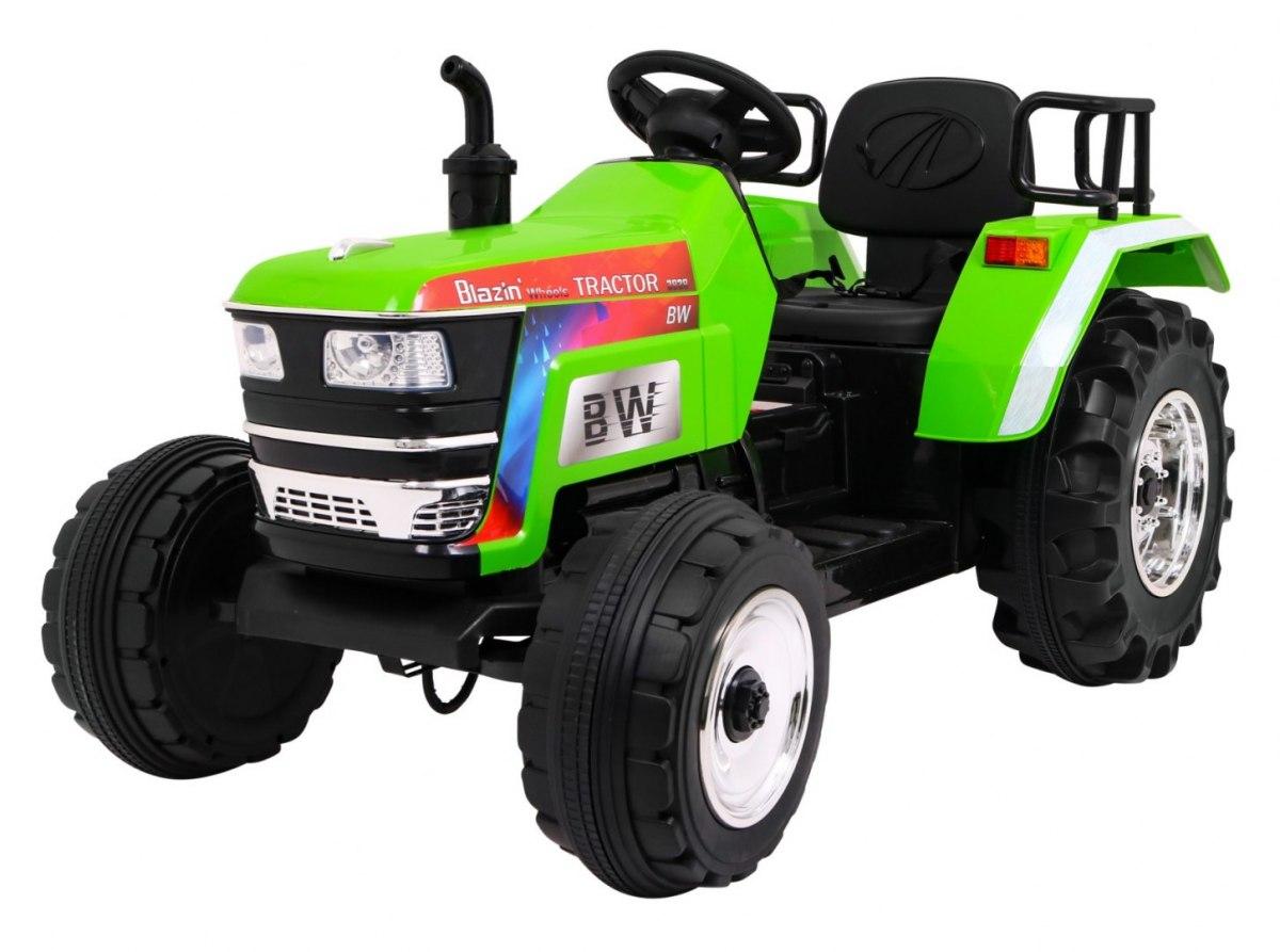 Tomido elektrický traktor Blazin - zelený