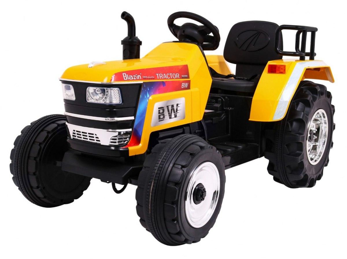 Tomido elektrický traktor Blazin - žlutý
