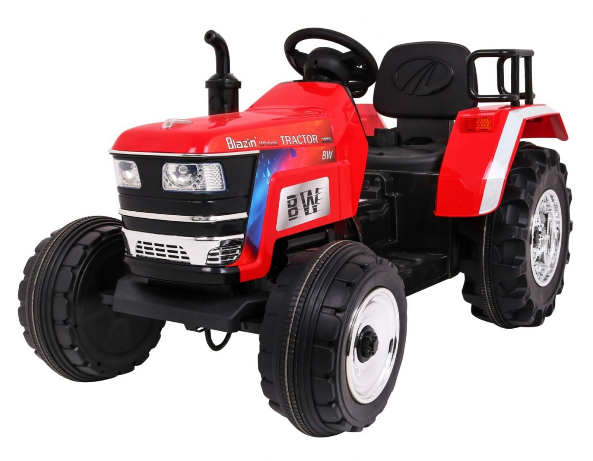 Tomido elektrický traktor Blazin - červený