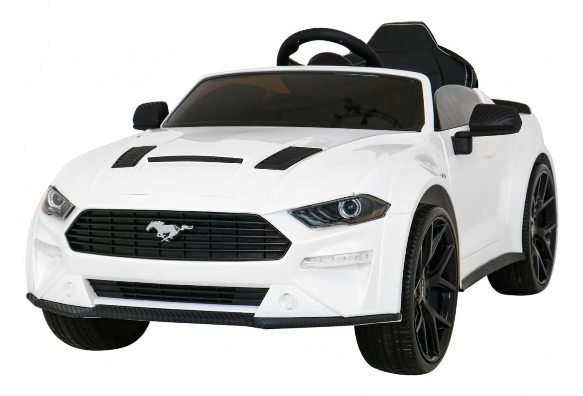 Tomido elektrické autíčko Ford Mustang GT - bílé
