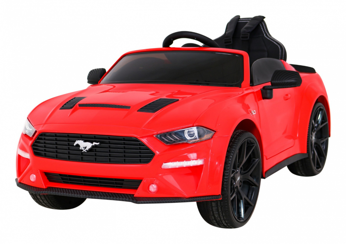Tomido elektrické autíčko Ford Mustang GT - červené