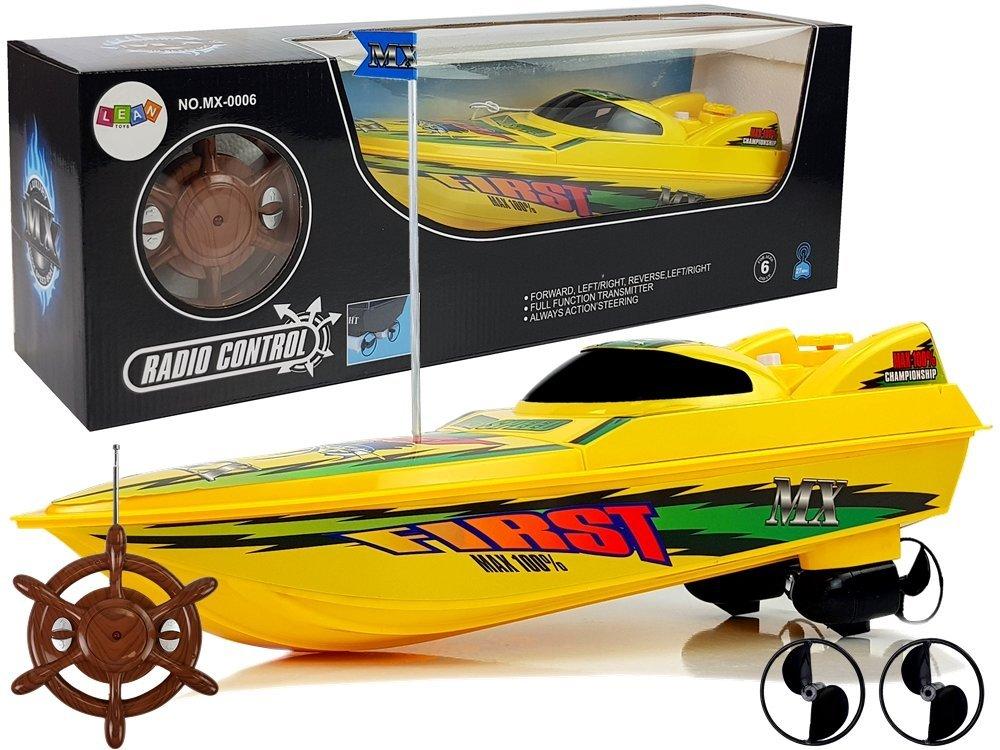 Tomido RC závodní člun 40 cm Yellow