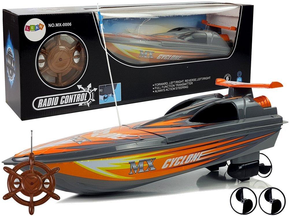 Tomido RC závodní člun 40 cm Grey