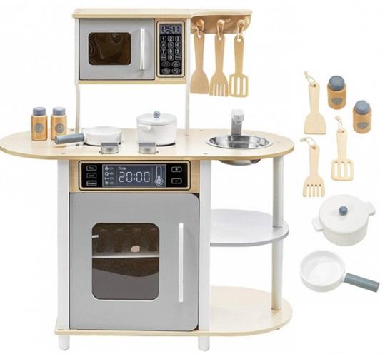 Tomido moderní dřevěná kuchyňka s příslušenstvím