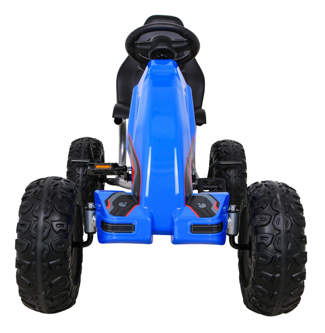 Dětská šlapací motokára Monster Strong