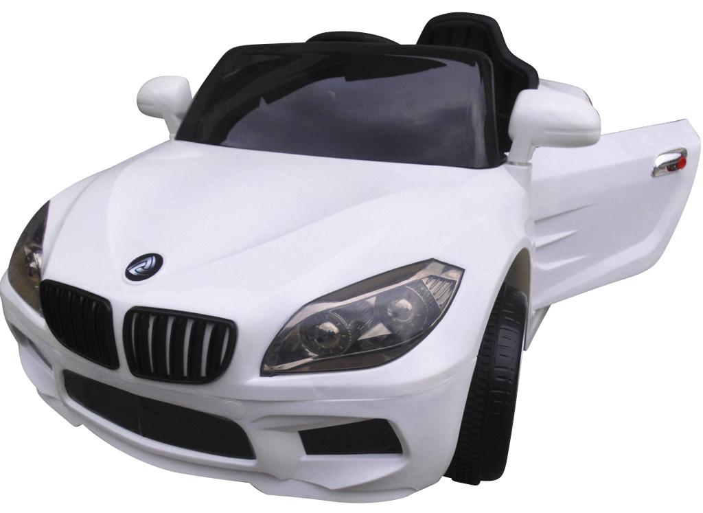 Elektrické autíčko M-Sport - bílé